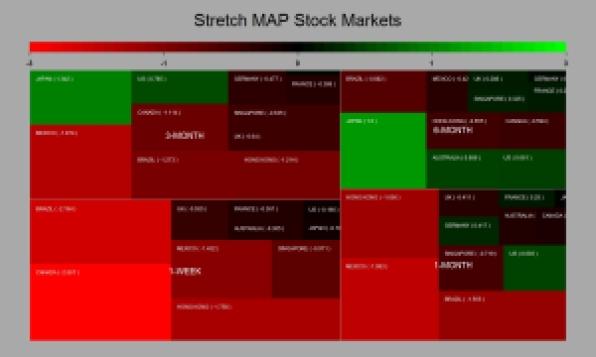 stretch map